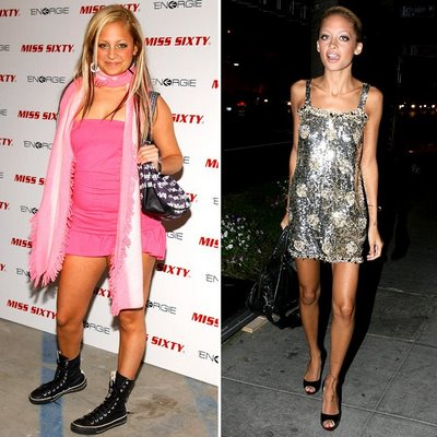 nicole Richie dramtic changes